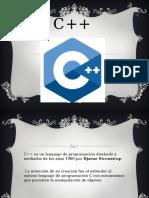 EXPOSICION SOBRE C++