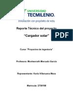 Reporte Tecnico Celda solar
