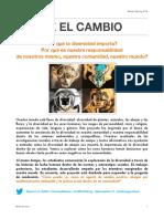 diversity project handout spanish