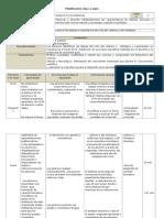 Ejemplo de Planificación Clase 1