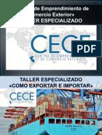 Importac y Exportac - Cece