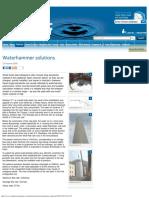 Waterhammer solutions - International Water Power.pdf