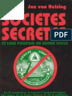 Van Helsing Jan - Les Societes Secretes Aux XXeme Siecle