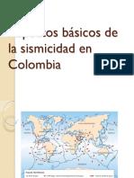 Aspectos básicos de la sismicidad en colombia