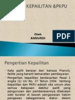 HUKUM KEPAILITAN & PKPU.ppt