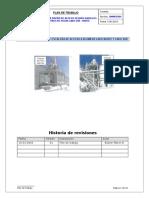 Plan de Trabajo 2000035594 -Desarrollar Diseño de Acceso Seguro Hacia Los Colectores de Polvo Lado Sur - Norte