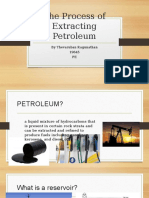 The Process of Extracting Petroleum