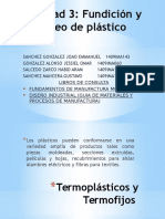 Fundición y Moldeo de Plastico