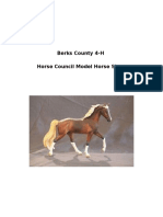 berks county 4-h horse council model horse show packet 2016