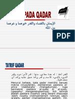 Qadla Dan Qadar