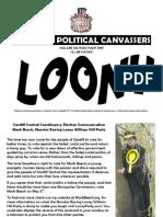 Cardiff Central Election Propaganda