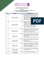 Telematch Games List 2015