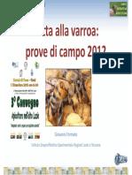 Lotta Varroa 2012 IZSLT
