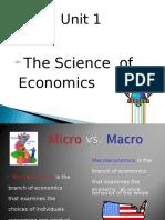 unit 1 the science of economics