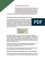 Một số thủ thuật khi trình bày Powerpoint.doc