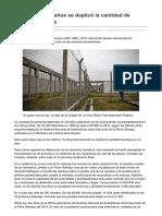 Lanacion.com.Ar-Cárceles en 15 Años Se Duplicó La Cantidad de Presos en El País