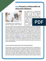 Mossack Fonseca, Panamá y el intercambio de información tributaria