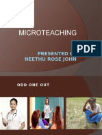 Microteaching Profession Ppt