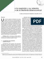 Fisiología de la cognición