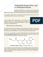 A Review of Tofacitinib Drugs & Pros. and Cons. of Pharmaceuticals