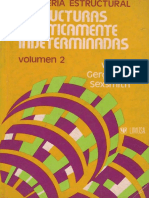 Estructuras Estaticamente Indeterminadas. Volumen 2
