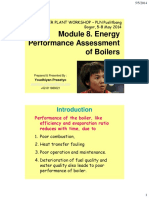 Module 8 - Energy Performance Assessment of Boilers