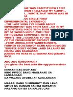 Ano Ang Nagyayari