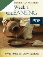 Week 1 eBook - Cleansing (ACA)