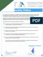 Quality Policy Rev-01