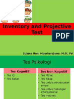Inventory Dan Projective Test_Materi 1 NEW