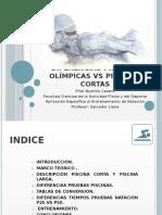 Diferencias Piscinas Olímpicas vs Piscinas Cortas 9
