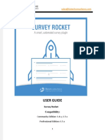 SugarCRM Survey Rocket Plugin - User Guide