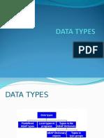 CURS 2 - Tipuri de Date