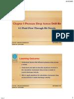 Chapter 5.1 Fluid Flow Through Bit Nozzle