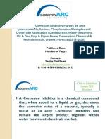 Organic Corrosion Inhibitors Market