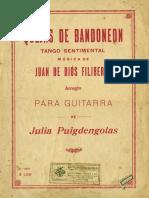 Quejas de Bandone (Guitarra)