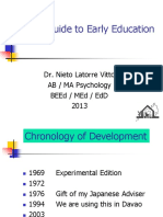 Portage Guide to Early Education [Vitto] 52 Slides