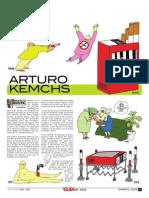 Arturo Kemchs , en la Guía del Valle, Boston, USA, No. 012 , marzo 3 de 2010