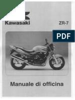 Manuale d Officina ZR7