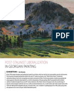 Post-Stalinist Liberalization in Georgian Painting