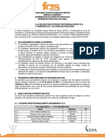 Resultado Final Seleção Estágios SPA 2016.1