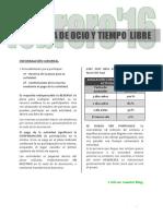 OcioFebrero2016 Blog