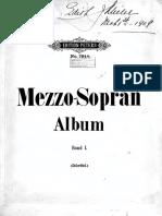 248770383 Arias Mezzo Soprano Arien Album Peters Opera