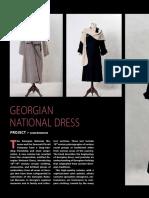 Georgian National Dress