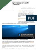 Como Resolver Problemas Com Perfil Temporário No Windows _ Dicas e Tutoriais _ TechTudo