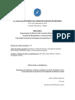 2015 - Proyectos de Investig. en Historia Reciente