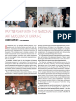 Partnership With the National Art Museum of Ukraine