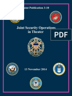 Joint Publication 3-10 Joint Security Operations in Theater (2014)