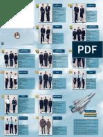 Tenues armée de l'air  (personnel masculin et feminin) Les tenues « metropole