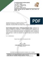 25.01.2016 - Comunicação Interposição AI Juiz Monte Azul - Assinado